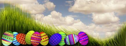 Wielkanocni jajka. ilustracja wektor