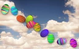 Wielkanocni jajka. ilustracji
