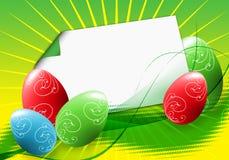 Wielkanocni jajka ilustracji