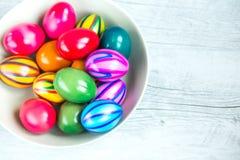 Wielkanocni jajka Fotografia Royalty Free