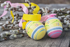 Wielkanocni jajka Zdjęcie Stock