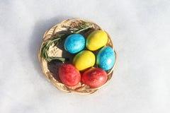 Wielkanocni jajka Obrazy Royalty Free
