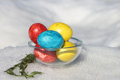 Wielkanocni jajka Obraz Royalty Free