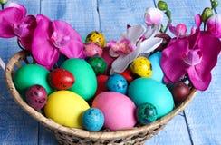 Wielkanocni jajka Zdjęcie Royalty Free