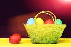 Wielkanocni jajka inkasowi Obraz Stock