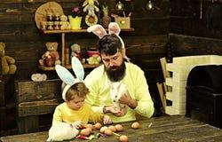 Wielkanocni jajka - przepisy i kucharstwo obrazy stock