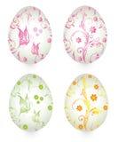 Wielkanocni jajka, rocznik Zdjęcia Stock