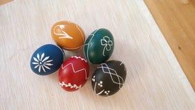Wielkanocni jajka, Sistani, republika czech fotografia royalty free