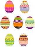 Wielkanocni jajka w grupie ilustracji