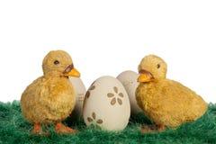 Wielkanocni kaczątka Obraz Royalty Free
