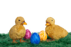 Wielkanocni kaczątka Obrazy Royalty Free