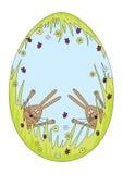 Wielkanocni króliki Zdjęcia Stock