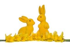 Wielkanocni króliki Fotografia Royalty Free