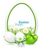 Wielkanocni sztandary Zdjęcie Royalty Free
