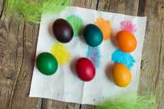 Wielkanocni wakacyjni jajka Zdjęcia Stock