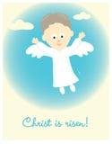Wielkanocny anioł ilustracja wektor