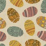 Wielkanocny bezszwowy wzór. Fotografia Stock