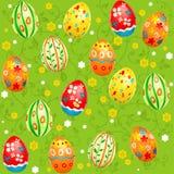Wielkanocny bezszwowy wzór Zdjęcie Stock