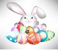 Wielkanocny buny uściśnięcie. Zdjęcie Stock