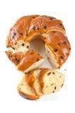 Wielkanocny chleb Zdjęcie Royalty Free