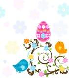 Wielkanocny drzewo royalty ilustracja