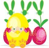 Wielkanocny dziecko Fotografia Royalty Free