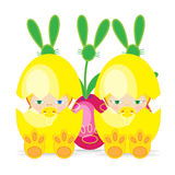 Wielkanocny dziecko Zdjęcia Stock