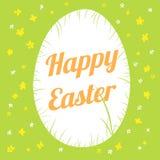 Szczęśliwa Easter karta Obraz Stock