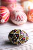 Wielkanocny jajko Pysanka Zdjęcia Royalty Free