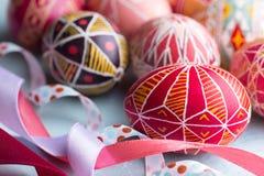 Wielkanocny jajko Pysanka Zdjęcia Stock