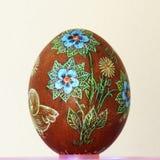 Wielkanocny jajko skrobający Zdjęcie Stock