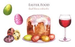 Wielkanocny jedzenie Fotografia Royalty Free