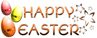 Wielkanocny kartka z pozdrowieniami Obrazy Stock