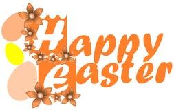 Wielkanocny kartka z pozdrowieniami Zdjęcia Royalty Free