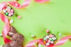 Wielkanocny kartka z pozdrowieniami tło Zdjęcie Stock