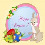 Wielkanocny kartka z pozdrowieniami royalty ilustracja