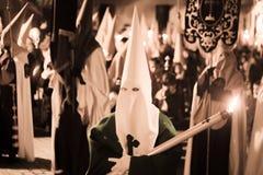 Wielkanocny katolicki Hiszpański korowód Zdjęcia Royalty Free