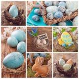 Wielkanocny kolaż fotografia stock