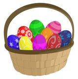 Wielkanocny kosz Fotografia Stock