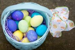 Wielkanocny kosz Zdjęcie Royalty Free