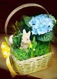 Wielkanocny kosz Zdjęcia Royalty Free