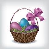 Wielkanocny kosz Ilustracji
