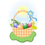 Wielkanocny kosz Zdjęcie Stock