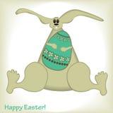 Wielkanocny królik Fotografia Stock