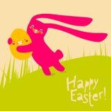 Wielkanocny królik Obrazy Royalty Free