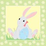 Wielkanocny królik Fotografia Royalty Free