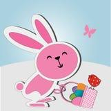 Wielkanocny królik Zdjęcie Royalty Free
