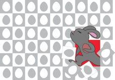 Wielkanocny królik przychodzi. Zdjęcie Stock