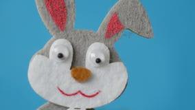 Wielkanocny królik skacze ekran zbiory