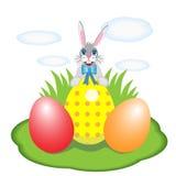 Wielkanocny królik Zdjęcia Royalty Free